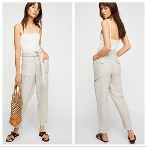 Free People Emerson High Waist Utility Pant 8